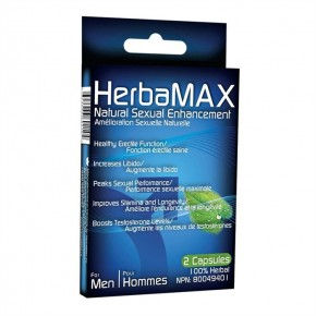 HERBAMAX HOMME 2 CAPSULES